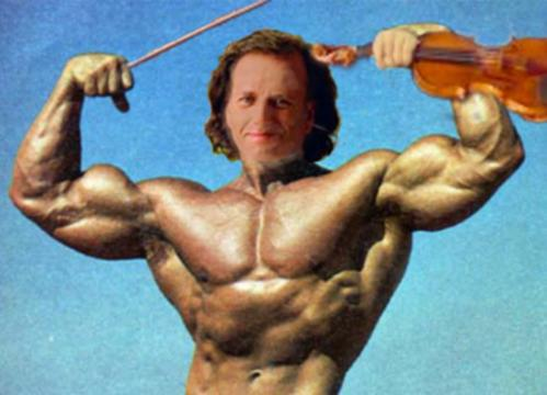 Andre Rieu as Arnold